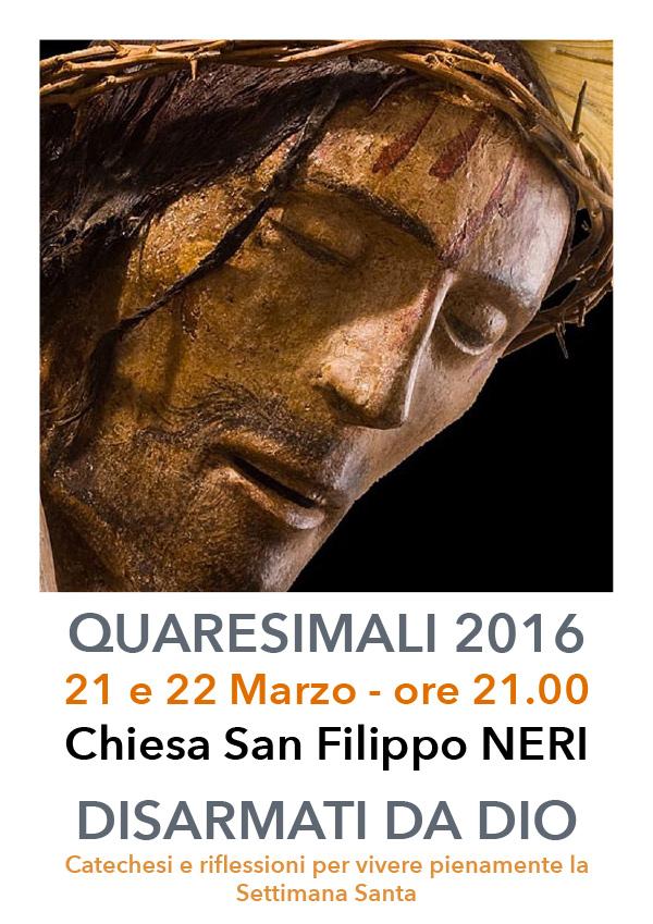 2016 03 21 22 Quaresimali San Filippo Neri