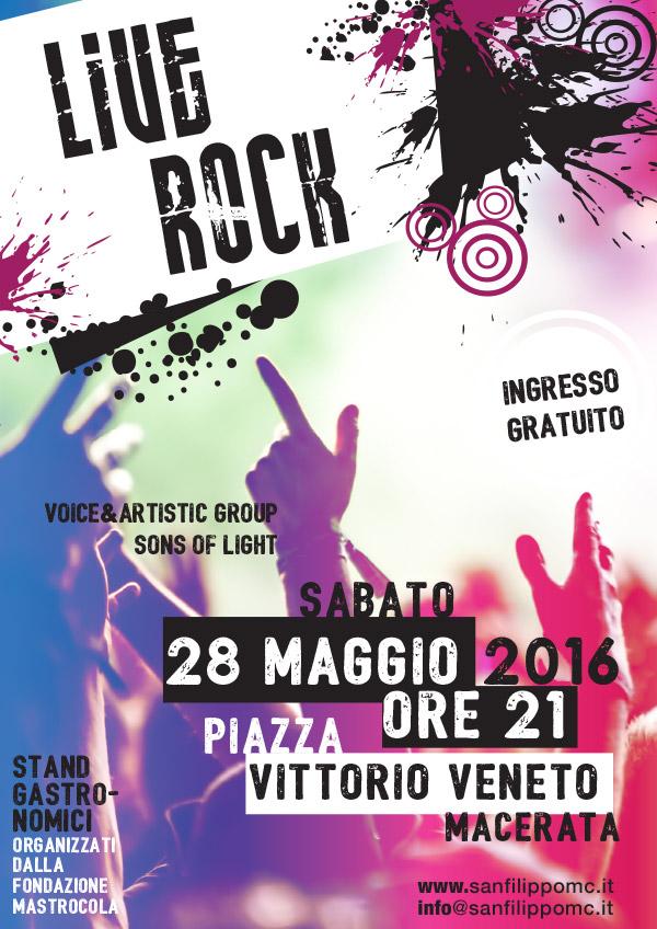 2016 05 28 Serata Rock Festa San Filippo