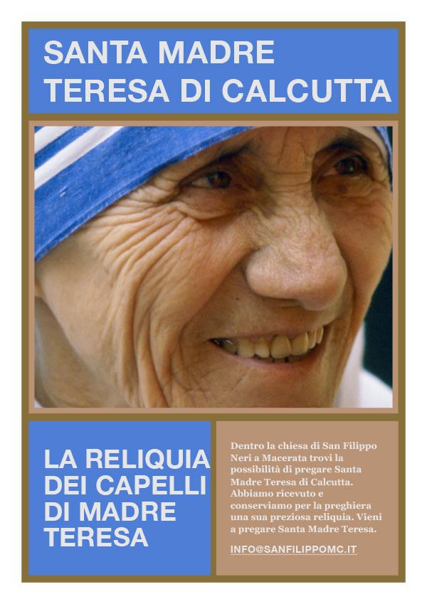 Reliquia Madre Teresa San Filippo